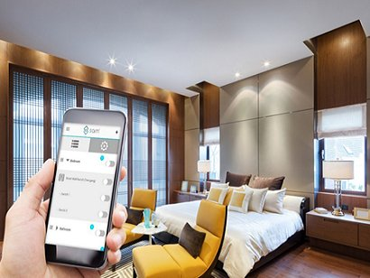 Avoid the little hassles. Smart Home is your tool to have a stress free control to your crib.
